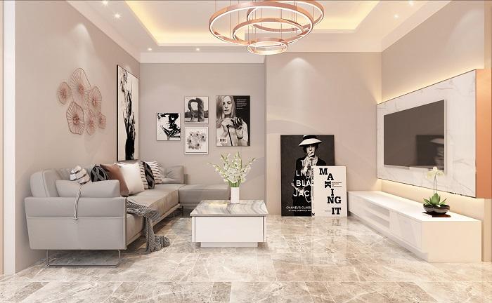 Návrh obývačky v novostavbe